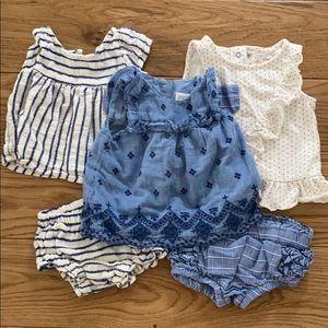 Baby girl set bundle